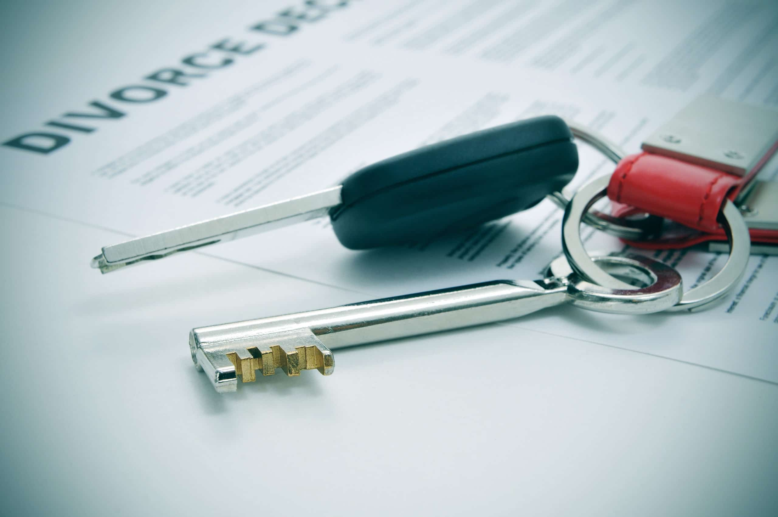 property divorce concept. Appealing the Distribution of Property in a Divorce